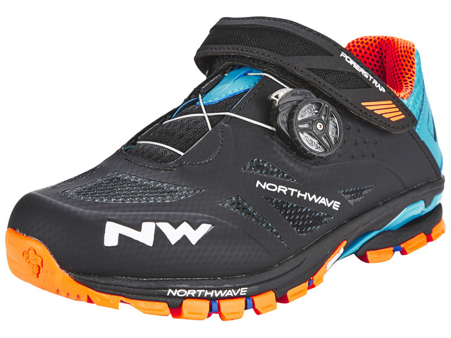 Northwave Spider Plus 2 skor Herr orange/svart